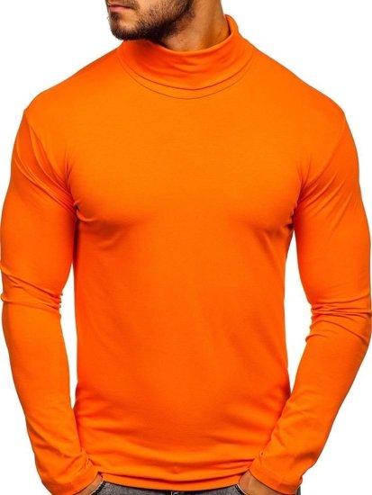 Oranžový rolák bez rukávov Bolf S6963