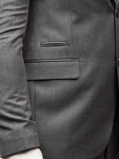 Šedý pánsky oblek BOLF 172000-1