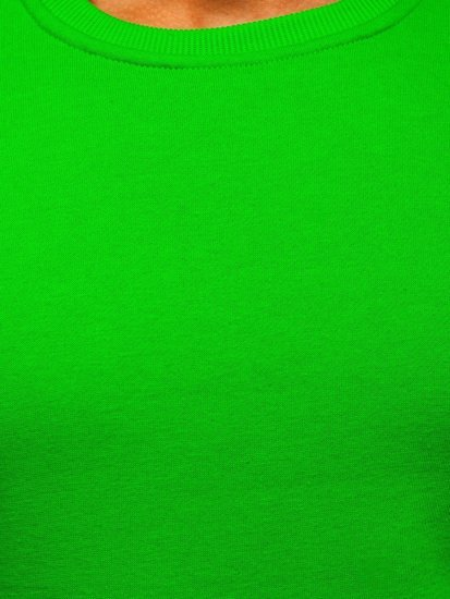 Svetlozelená pánska mikina bez kapucne Bolf 2001