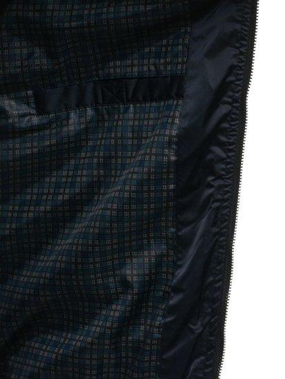 Tmavomodrá pánska prechodná bunda BOLF 57NA