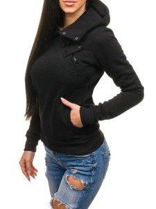 Čierna dámska mikina BOLF 15S