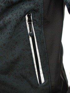 Čierna pánska prechodná bunda BOLF 0013