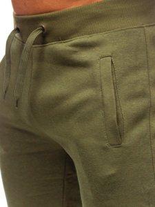 Khaki pánske tepláky Bolf XW01-A