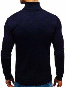 Tmavomodrý pánsky sveter BOLF 2400